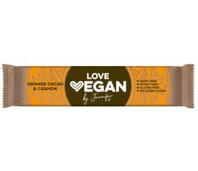 Love Vegan Orange Cacao and Cashew 24 x 32.5g