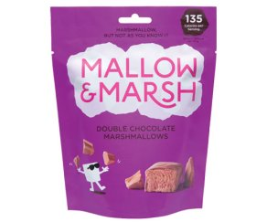 Mallow & Marsh - Sharing Double Chocolate Marshmallow Pouch (6 x 100g)