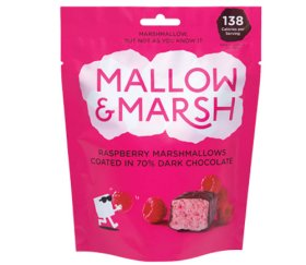 Mallow & Marsh - Sharing Raspberry Marshmallow Pouch (6 x 100g)