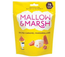 Mallow & Marsh - Sharing Salted Caramel Marshmallow Pouch (6 x 100g)