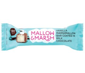 Mallow & Marsh - Vanilla & Milk Chocolate Marshmallow Bar (12 X 35g)