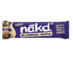 Nakd Blueberry Muffin Bar (18 x 35g Bars)