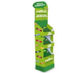 Nakd Floor Standing Display Unit - Free of Charge
