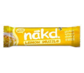 Nakd Lemon Drizzle Bar (18 x 35g Bars)