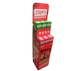 Stript Floor Standing Display Unit - Free of Charge