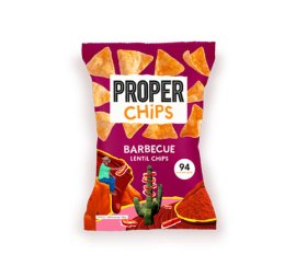 Properchips Sharing BBQ Lentil Chips (8 x 85g)