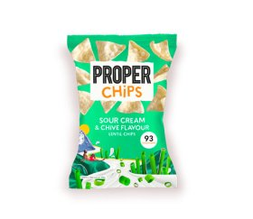 Properchips Sharing Sour Cream & Chives Lentil Chips (8 x 85g)