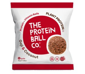 The Protein Ball Co - Goji & Coconut (10 x 45g - Vegan Balls)