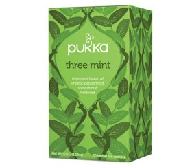 Pukka Herbs Tea Bags - Three Mint (4 x 20pcs)