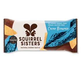Squirrel Sisters - Cacao Brownie Raw Energy Bar (16 x 40g)