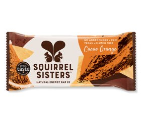 Squirrel Sisters - Cacao Orange Raw Energy Bar (16 x 40g)