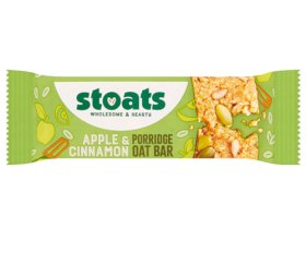 Stoats - Apple & Cinnamon Porridge Bar (18 x 50g)