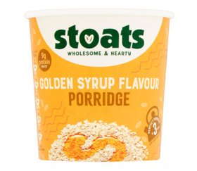 Stoats - Golden Syrup Porridge Pot (16 x 60g)