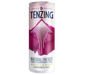 Tenzing Natural Energy Drink - Raspberry & Yuzu (24 x 250ml)