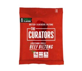 The Curators Louisiana Chilli Biltong (12 x 30g)