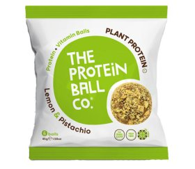 The Protein Ball Co - Lemon & Pistachio (10 x 45g - Whey Balls)