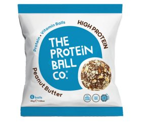 The Protein Ball Co - Peanut Butter (10 x 45g - Whey Balls)