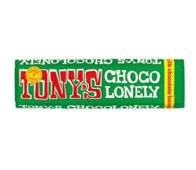 Tony's Chocolonely Milk Chocolate & Hazelnut Bar (35 x 47g)