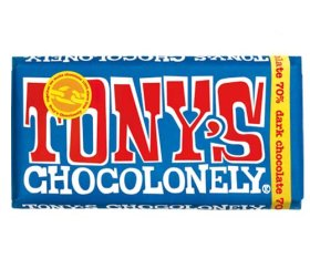 Tony's Chocolonely 70% Dark Chocolate (15 x 180g)