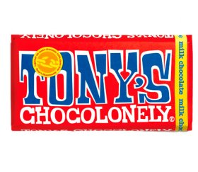 Tony's Chocolonely Milk Chocolate Bar (15x 180g)