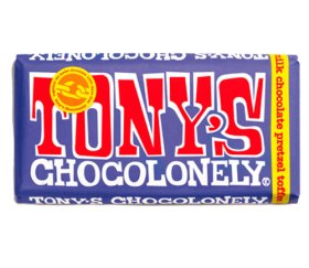 Tony's Chocolonely Dark Milk Chocolate, Pretzel Toffee (15x 180g)