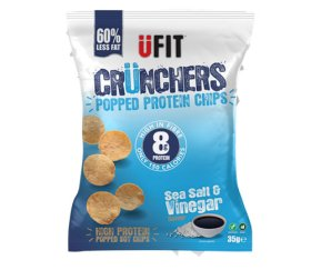 UFIT Sea Salt & Vinegar Crunchers (11 x 35g)