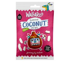 Wallaroo Organic Toasted Coconut Chips 10x30g