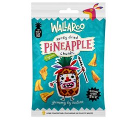 Wallaroo Organic Gentle Dried Pineapple Chunks 10 x 30g