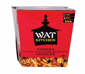 Wat Kitchen - Chicken in Chilli & Thai Basil Sauce (6 x 250g Box)