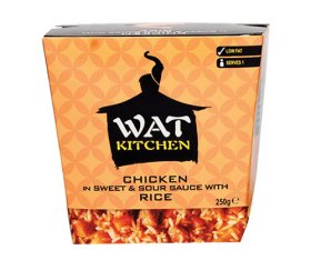 Wat Kitchen - Chicken in Sweet & Sour Sauce (6 x 250g Box)