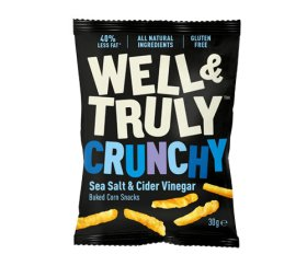 Well & Truly Impulse Sea Salt & Vinegar (16 x 30g)