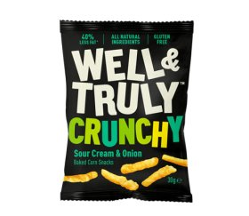 Well & Truly Impulse Sour Cream & Onion Sticks (16 x 30g)