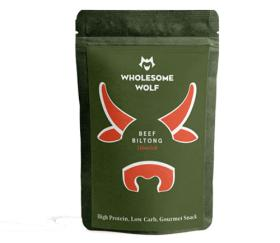 Wholesome Wolf - Moorish Biltong (Harissa Spice) 15 x 35g