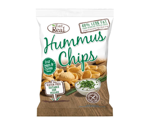 Eat Real Hummus Sour Cream & Chive (24 x 25g)