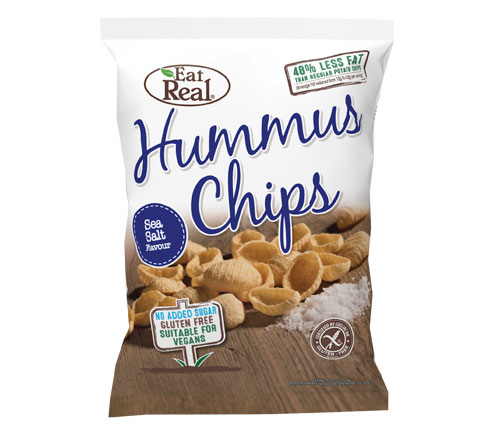 Eat Real Sharing Hummus Sea Salt (10 x 135g)