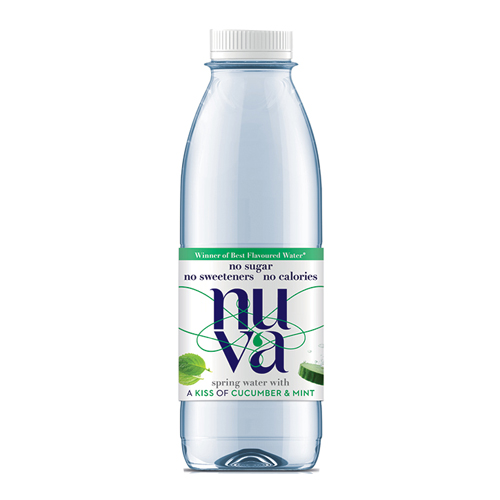Nuva Cucumber & Mint Kissed Spring Water (6 X 500ml)