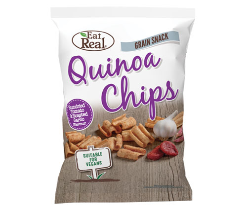 Eat Real Sharing Quinoa Sundried Tomato & Roasted Garlic (10 x 80g)