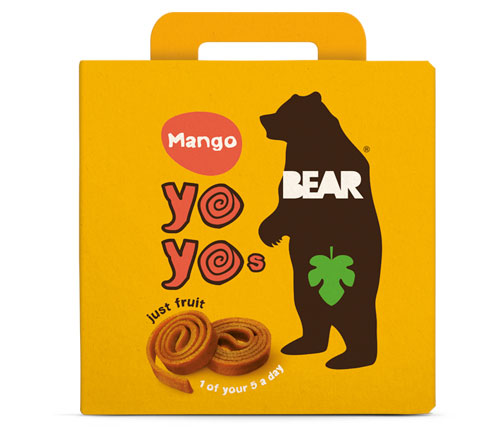 Bear Multi-Pack Mango Fruit Yo Yos (6 x 5 x 20g)